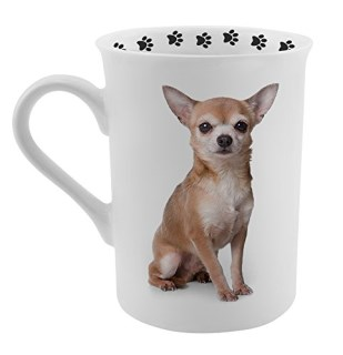Dimension 9 Chihuahua Coffee Mug, White