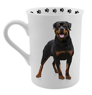 Dimension 9 Rottweiler Coffee Mug, White