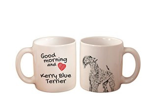 Kerry Blue Terrier, mug with a dog, high quality, cup, ceramic, new collection