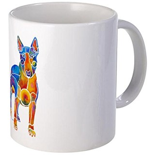 CafePress - English Bull Terrier Art Gifts - Coffee Mug, Novelty Coffee Cup