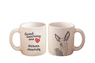 Ibizan hounds, mug with a dog, high quality, cup, ceramic, new collection