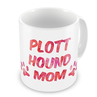 Coffee Mug Dog & Cat Mom Plott Hound - NEONBLOND