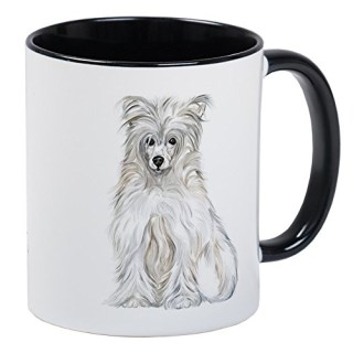 CafePress - Chinese Crested Powder Puff - Unique Coffee Mug, Coffee Cup