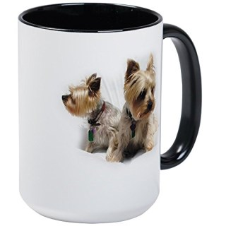 CafePress - Silky Terriers Mugs - Coffee Mug, Large 15 oz. White Coffee Cup