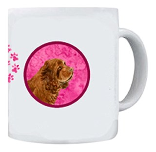 Caroline's Treasures SS4786-PK-CM15 Sussex Spaniel Microwavable Ceramic Coffee Mug, 15 oz, Multicolor