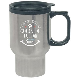 Cute Coton De Tulear Dog Gift For For Owners - Travel Mug