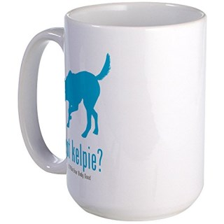 CafePress - Australian Kelpie Large Mug - Coffee Mug, Large 15 oz. White Coffee Cup
