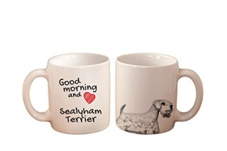 Sealyham terrier, mug with a dog, high quality, cup, ceramic, new collection