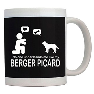 Teeburon NO ONE UNDERSTANDS ME LIKE MY Berger Picard Mug
