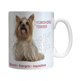 Boelter Brands Yorkshire Terrier Ceramic Mug, 11-ounce
