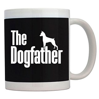 Teeburon The dogfather Miniature Pinscher Mug