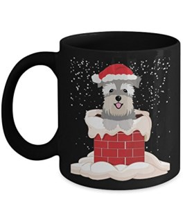 Miniature Schnauzer Mug For Men,Women. Funny Gifts For Dog Lovers At Christmas