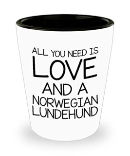 Funny Norwegian Lundehund 11oz Coffee Mug - Love Dog - Unique Gift For Men and Women Pet Lovers