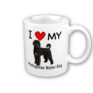 I Love My Portuguese Water Dog Coffee Mug by MyHeritageWear