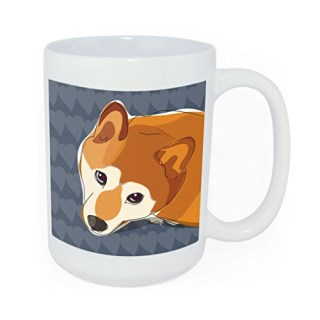 Pop Doggie Shiba Inu Time to Walk The Dog Coffee Mug