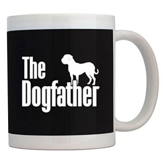 Teeburon The dogfather Dogue de Bordeaux Mug