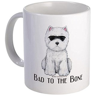 CafePress - West Highland White Terrier Art - Unique Coffee Mug, Coffee Cup
