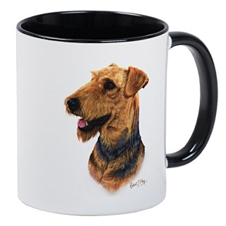 CafePress - Airedale Terrier - Unique Coffee Mug, Coffee Cup
