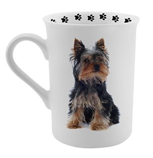 Dimension 9 Yorkshire Terrier Coffee Mug, White