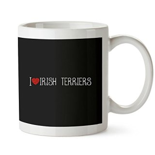 Idakoos - I love Irish Terriers cool style - Dogs - Mug