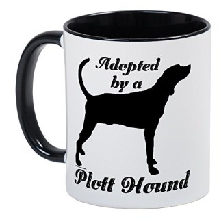 CafePress - ADOPTED By Plott Hound - Unique Coffee Mug, Coffee Cup