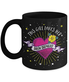 This Girl Loves her Shiloh Shepherd Mug - Dog Lover Gifts and Accessories Coffee Cup