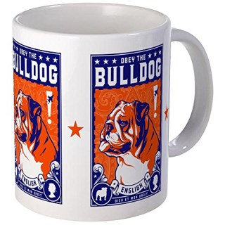 CafePress - Obey The English Bulldog! Freedom Mug - Unique Coffee Mug, Coffee Cup