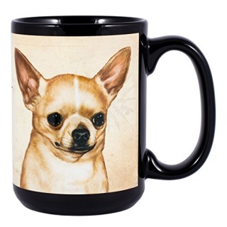 Chihuahua Dog Breed Traits Ceramic Stoneware 15 Ounce Mug
