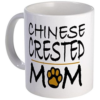 CafePress - Chinese Crested Mom Mug - Unique Coffee Mug, Coffee Cup
