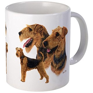 CafePress - Airedale Terrier - Coffee Mug, Novelty Coffee Cup