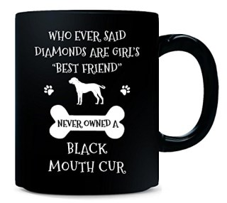 My Best Friend Is Black Mouth Cur Cool Gift - Mug