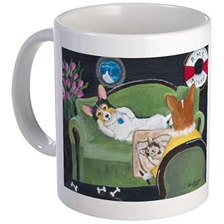 CafePress The Heart of the Ocean Pembroke Welsh Corgi Mug - Standard