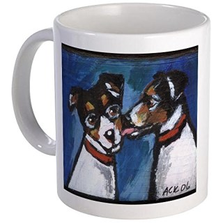 CafePress - RAT TERRIER Kiss - Unique Coffee Mug, Coffee Cup
