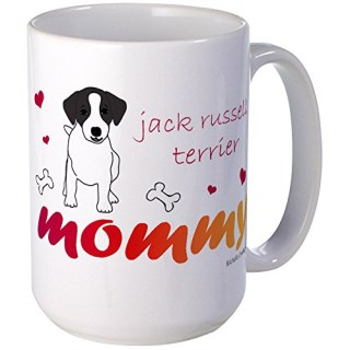CafePress - Jack Russell Terrier Mugs - Coffee Mug, Large 15 oz. White Coffee Cup
