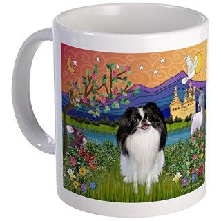 CafePress - Fantasyland & Japanese Chin Mug - Unique Coffee Mug, Coffee Cup
