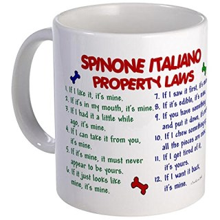 CafePress - Spinone Italiano Property Laws 2 - Coffee Mug, Novelty Coffee Cup
