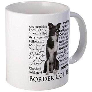 CafePress - Border Collie Traits Mugs - Unique Coffee Mug, Coffee Cup