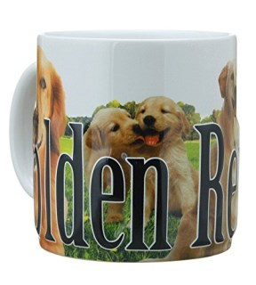 Americaware PMGLD01 Golden Retriever Mug