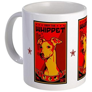 CafePress - Obey The Whippet! Coffee - Unique Coffee Mug, Coffee Cup