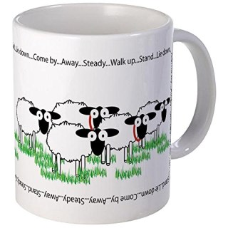 CafePress - Working Border Collie & Sheep Mugs - Unique Coffee Mug, Coffee Cup