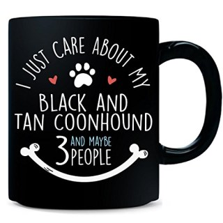 Cute Black And Tan Coonhound Dog Gift For For Owners - Mug