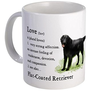 CafePress - Flat-Coated Retriever Mug - Unique Coffee Mug, Coffee Cup