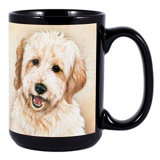 Goldendoodle Dog Breed Traits Ceramic Stoneware 15 Ounce Mug