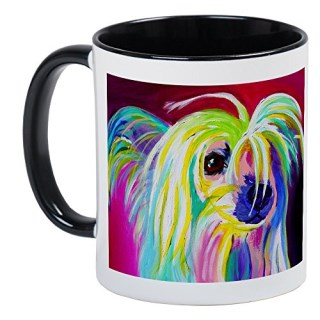 CafePress - Chinese Crested Copy Mugs - Unique Coffee Mug, Coffee Cup