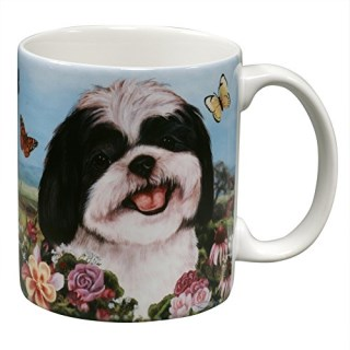 Shih Tzu Garden Party Fun Mug