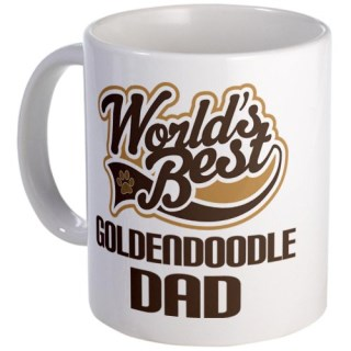 CafePress Goldendoodle Dog Dad Mug - Standard