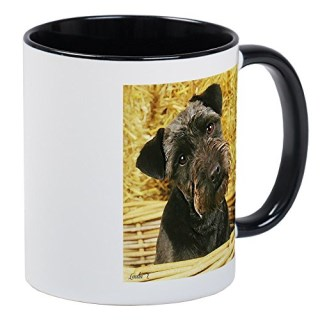 CafePress - Patterdale Terrier Mugs - Unique Coffee Mug, Coffee Cup