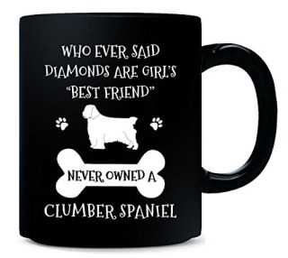 My Best Friend Is Clumber Spaniel Cool Gift - Mug