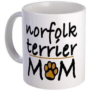 CafePress - Norfolk Terrier Mom Mug - Unique Coffee Mug, Coffee Cup