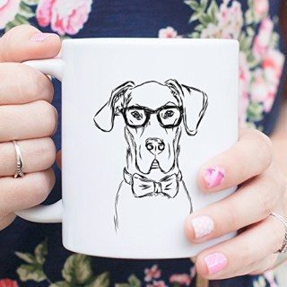 Great Dane Coffee Mug 11oz Dog Lover Gift for Him Her